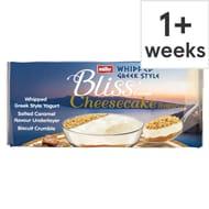 Muller Corner Bliss Cheesecake Salted Caramel 4X100g