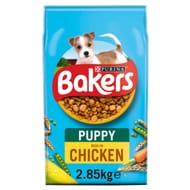 Bakers Puppy Dog Food Chicken & Vegetable 2.85Kg