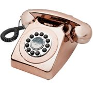 Goodmans Retro Phone - Metallic Copper with £4.99 discount - Great buy!