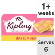 Mr Kipling Battenberg Cake Each