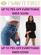 I SAW IT FIRST - up to 75% off EVERYTHING - Ends Soon!