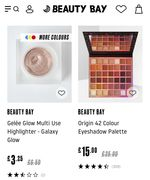 Upto 50% off Selected Beauty Bay Branded Makeup