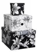 WHSmith White Lily Stackable Nested Storage Box on Sale From £25 to £6.99