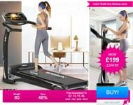 1100W E-Jogga XF Pulse Treadmill - 2 Colours! Bought 80