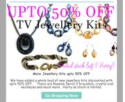 Up to 50% off Jewellery Kits at Totally Beads