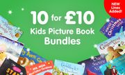 10 Kids Picture Story Books for £10