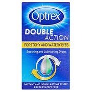 Optrex Drops for Itchy & Water Eyes Double Action, 10 Ml