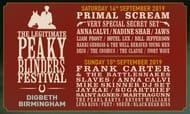 The Legitimate Peaky Blinders Festival, 14/15 September in Birmingham