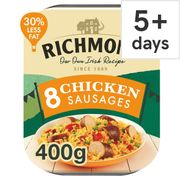 Richmond Chicken Sausages 400G for 95p!