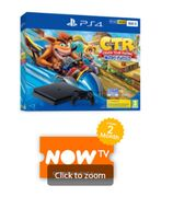 500GB PLAYSTATION 4 with CRASH TEAM RACING and NOW TV Only £249