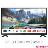 Sharp LC-32HI5332KF 32 Inch HD Ready Smart TV