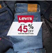 Further Reductions on Levi's - Upto 45% Off