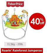 SAVE £42 - Fisher-Price: Roaring Rainforest Jumperoo