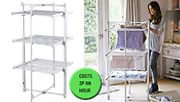 3-Tier Electric Airer & Dryer with Free Cover - 21m of Drying Space!