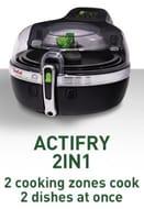 SAVE £130 - Tefal ActiFry Air Fryer, 2-in-1, (6 Portions) 1.5 Kg