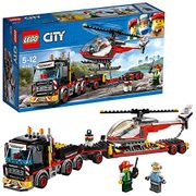 Lego City Heavy Cargo Transporter and Helicopter