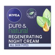 Nivea Pure and Natural Night Cream 50Ml