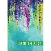 A5 Blue Floral 2020 Week to View Diary Format: Hardback