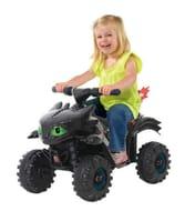 KIDS ROLLPLAY Mini Electric Quad Bike - How to Train Your Dragon