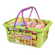 Shopping Basket Toy Set