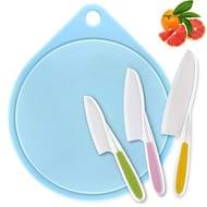 Knife for Kids, Joyoldelf Kitchen Knives Child Safety Knife in 3 Sizes