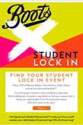 20% off for Students at Boots at Freshers Week Student Lock-in Event