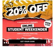 Students Get 20% off at Footasylum with Unidays