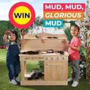 WIN Our MUD KITCHEN