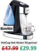 SAVE £18 - Breville HotCup Hot Water Dispenser - FREE DELIVERY