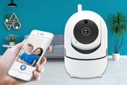 Home Security HD Tracking WiFi IP Camera with Night Vision!