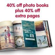 40% off on Photo Books