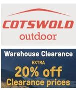 Cotswold Outdoor Warehouse Clearance