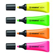 Stabilo Neon Highlighters 4 Pack