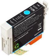 AmazonBasics Remanufactured Ink Cartridge Replacement for Epson Apple T129 Cyan