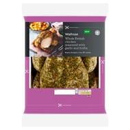 Waitrose Whole British Chicken with Garlic and Herbs - Half Price £3