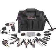 Lightning Deal ! VonHaus Cordless Electric Screwdriver 94pc Household Tool Set