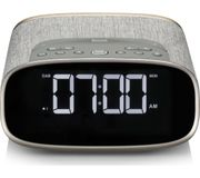 *SAVE £25* VQ Lark DAB+/FM Bluetooth Clock Radio - Oak