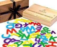 Magnetic Alphabet Letters - Fridge Magnets for Kids