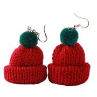Novelty Christmas/Winter Hat Dangle Earrings