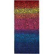 Multicoloured Leopard Print Cotton Beach Towel