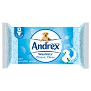 Andrex Washlets Classic Clean Single X40