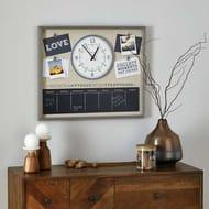 Clock Notice Board - Save £7.5