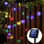 Panpany Solar Lights Outdoor, 50 LED Solar String Lights