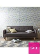 Ideal Home Quinn Fabric Sofa Bed
