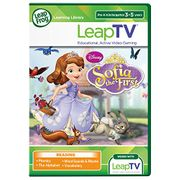 LeapFrog LeapTV Learning Game Disney Sofia the First Sofia's Picnic Games