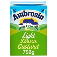 Ambrosia Light Devon Custard 750G