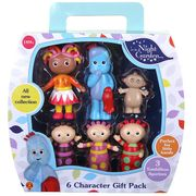 In the Night Garden Figurine 6 Character Gift Pack - save £4