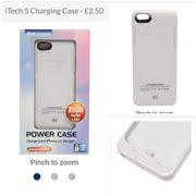 £2.50 - Charging Case for Iphones 5/5S/5SE/5C from Sports Direct.