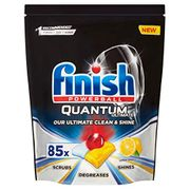 Best Ever Price! Finish Quantum Ultimate Dishwasher Tablets Lemon Scent 85 Tabs