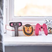 Wooden Cute Animal Letters Only £2.5